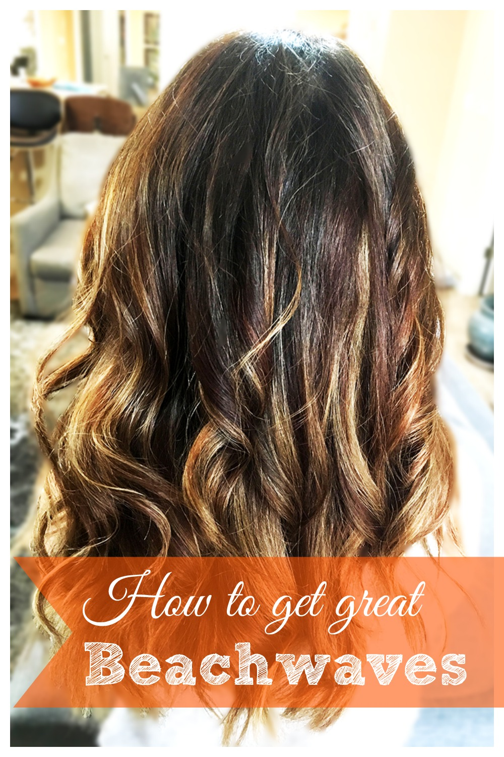 how to get beach wave hair