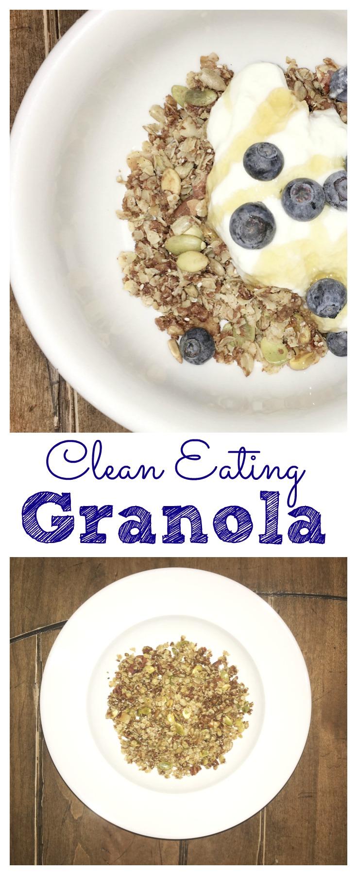 Clean Nutty Granola
