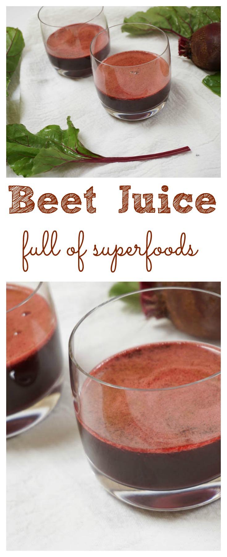 Fresh Beet Juice