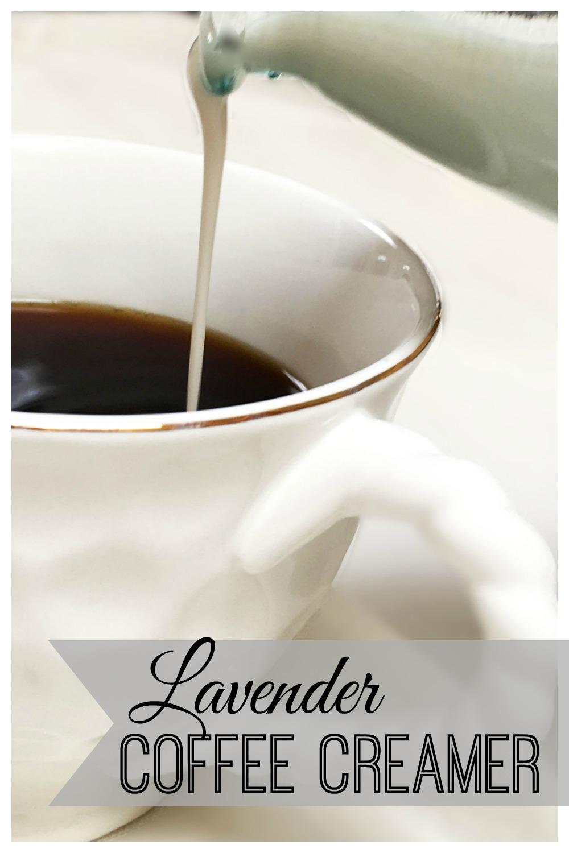 Lavender Coffee Creamer