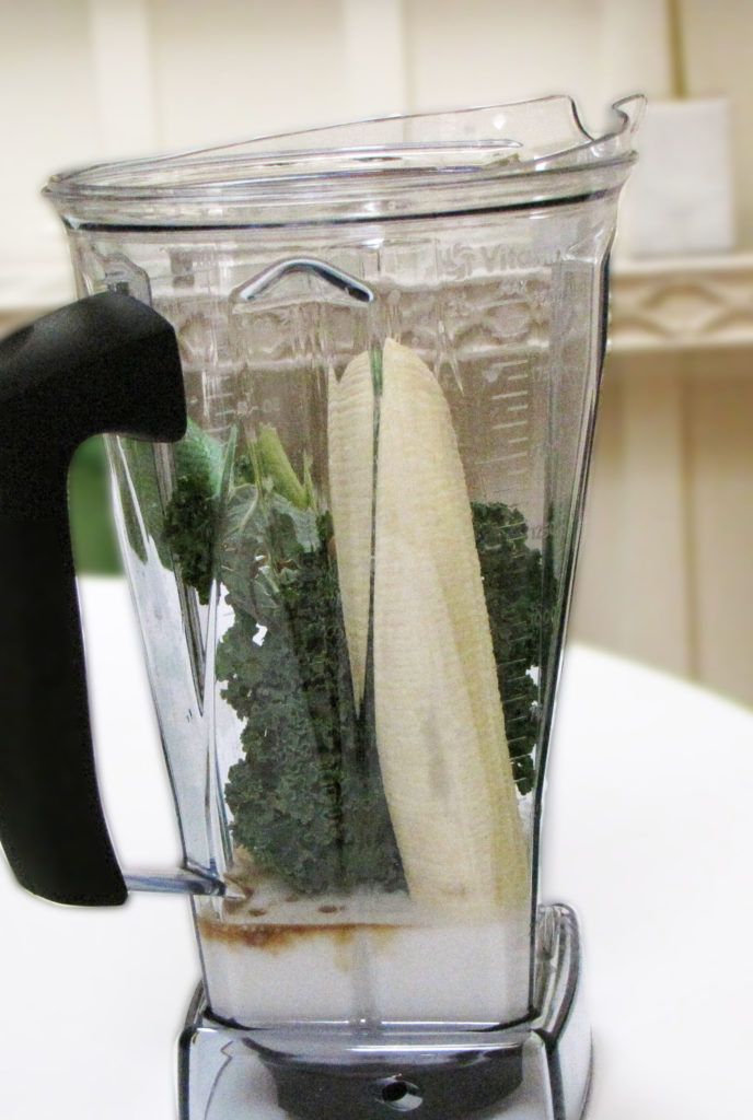banana kale smoothie