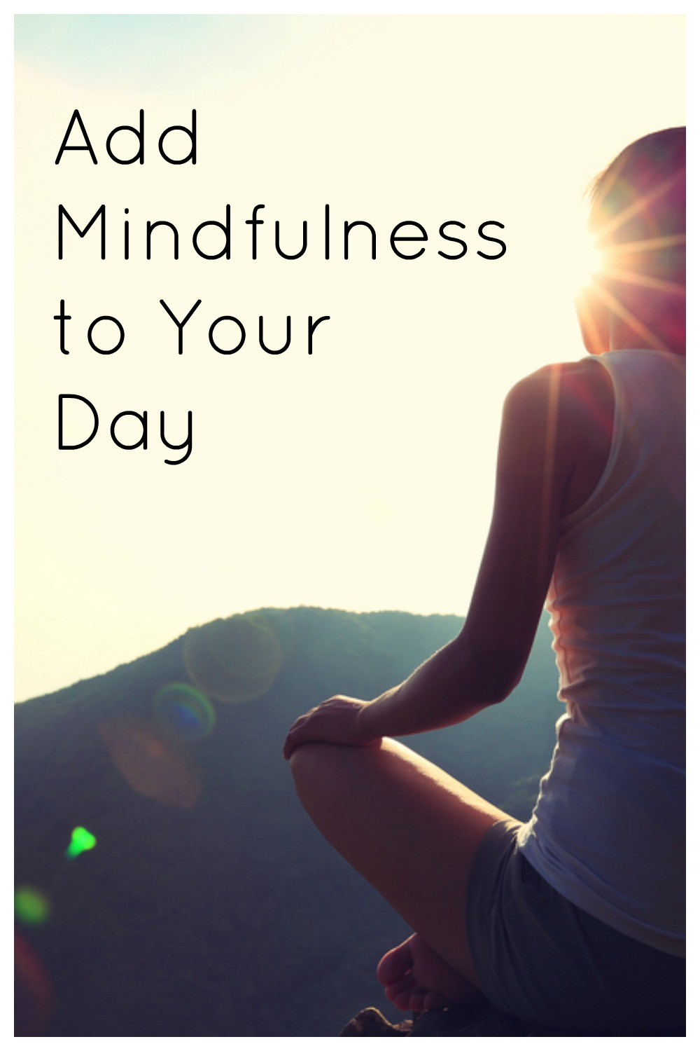 add mindfulness to your day
