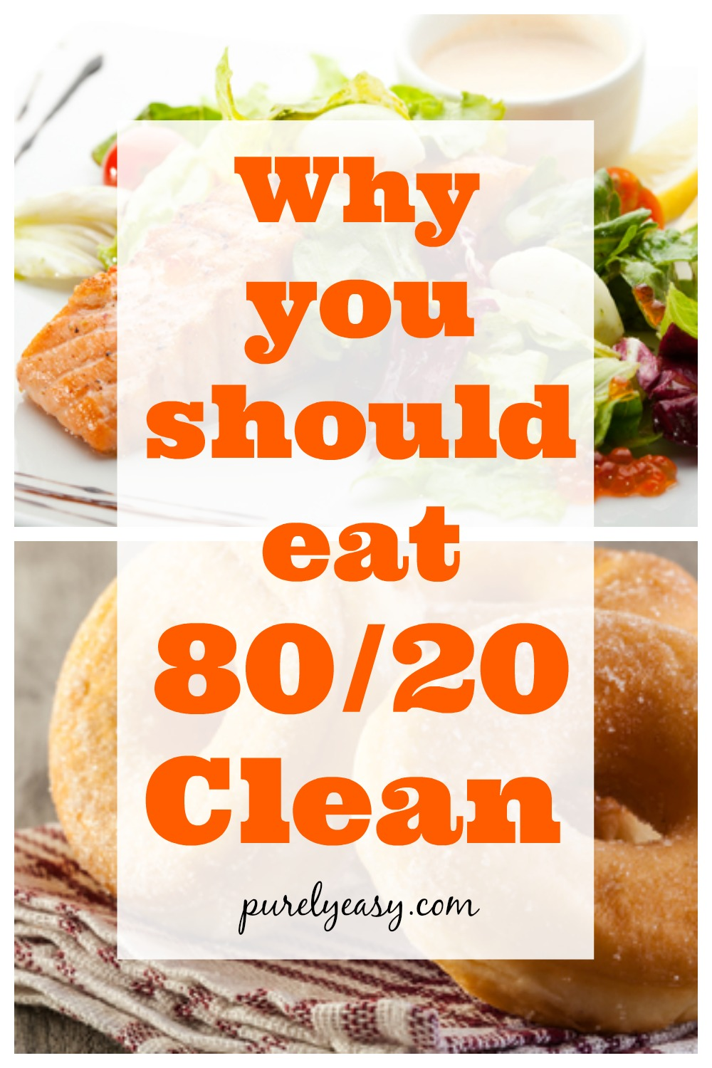 80/20 clean: the sensible way to eat