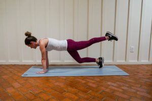 intense plank workout at home