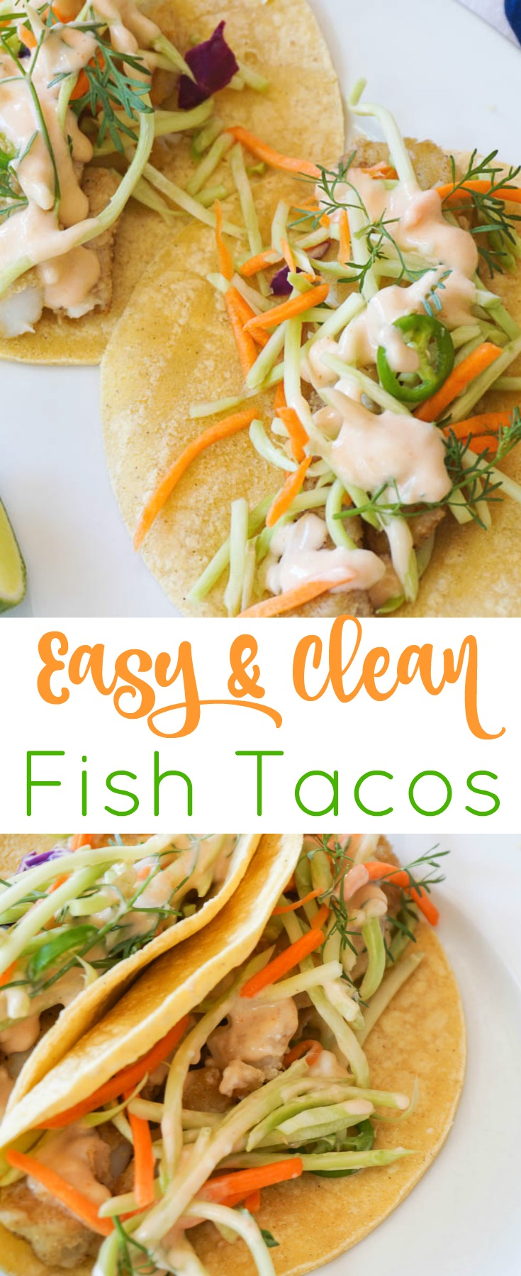 Easy fish tacos purely easy for Simple fish taco recipe