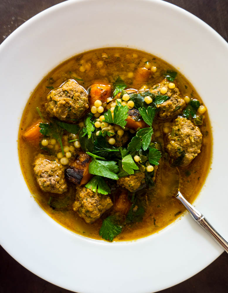 spicy meatball soup