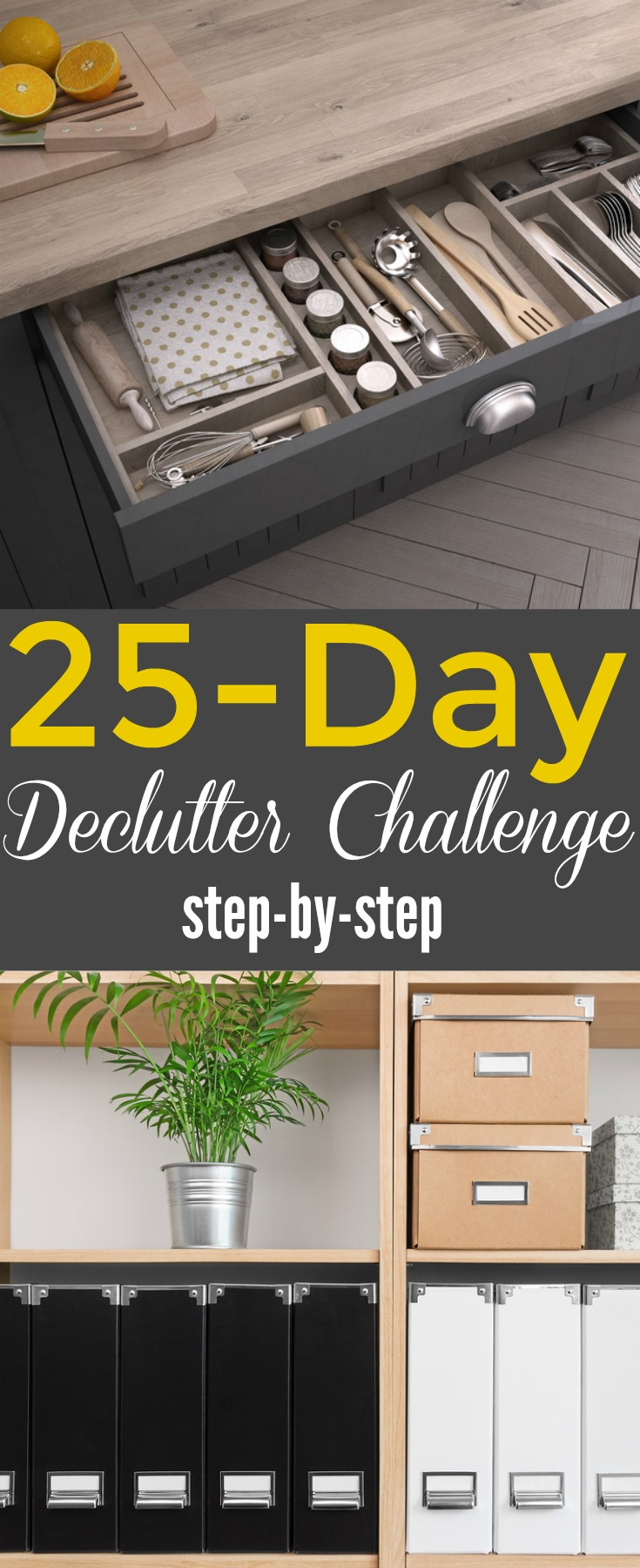 declutter your home in 25 days
