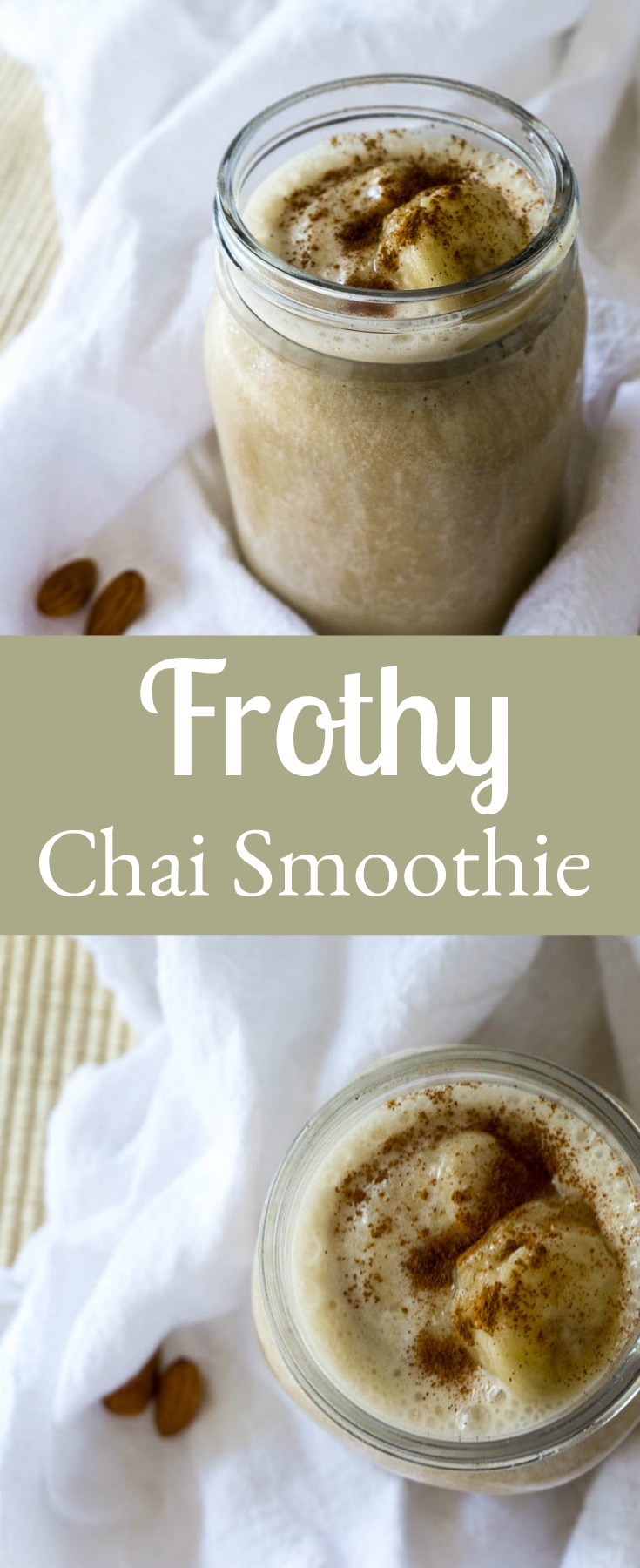frothy chai smoothie