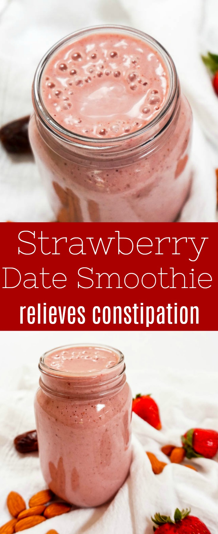 strawberry date smoothie