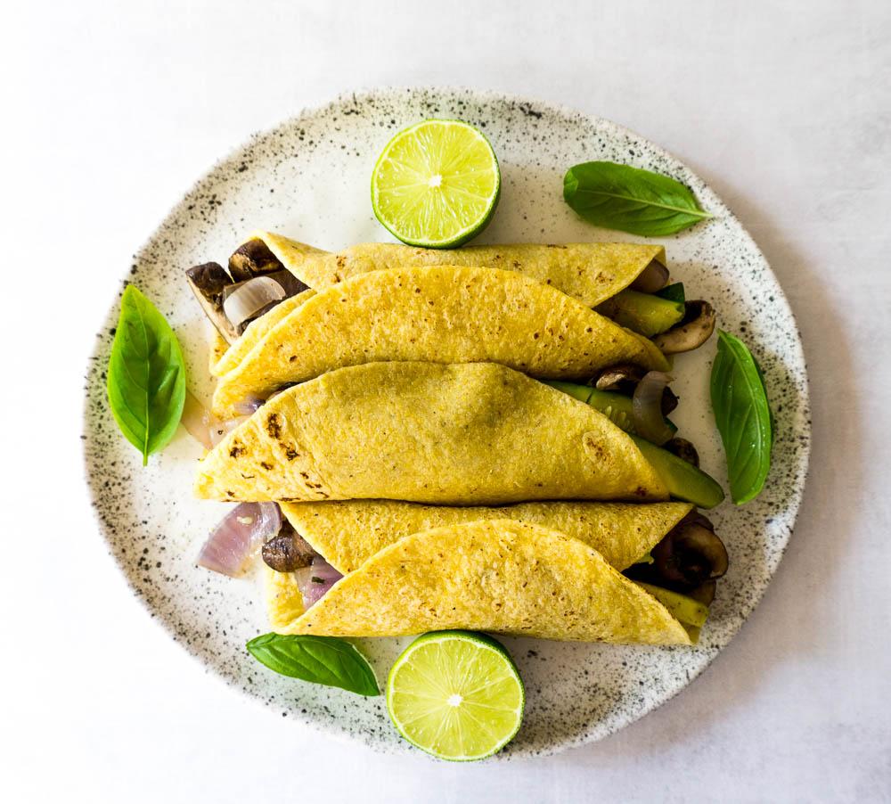 sheet pan portobello tacos