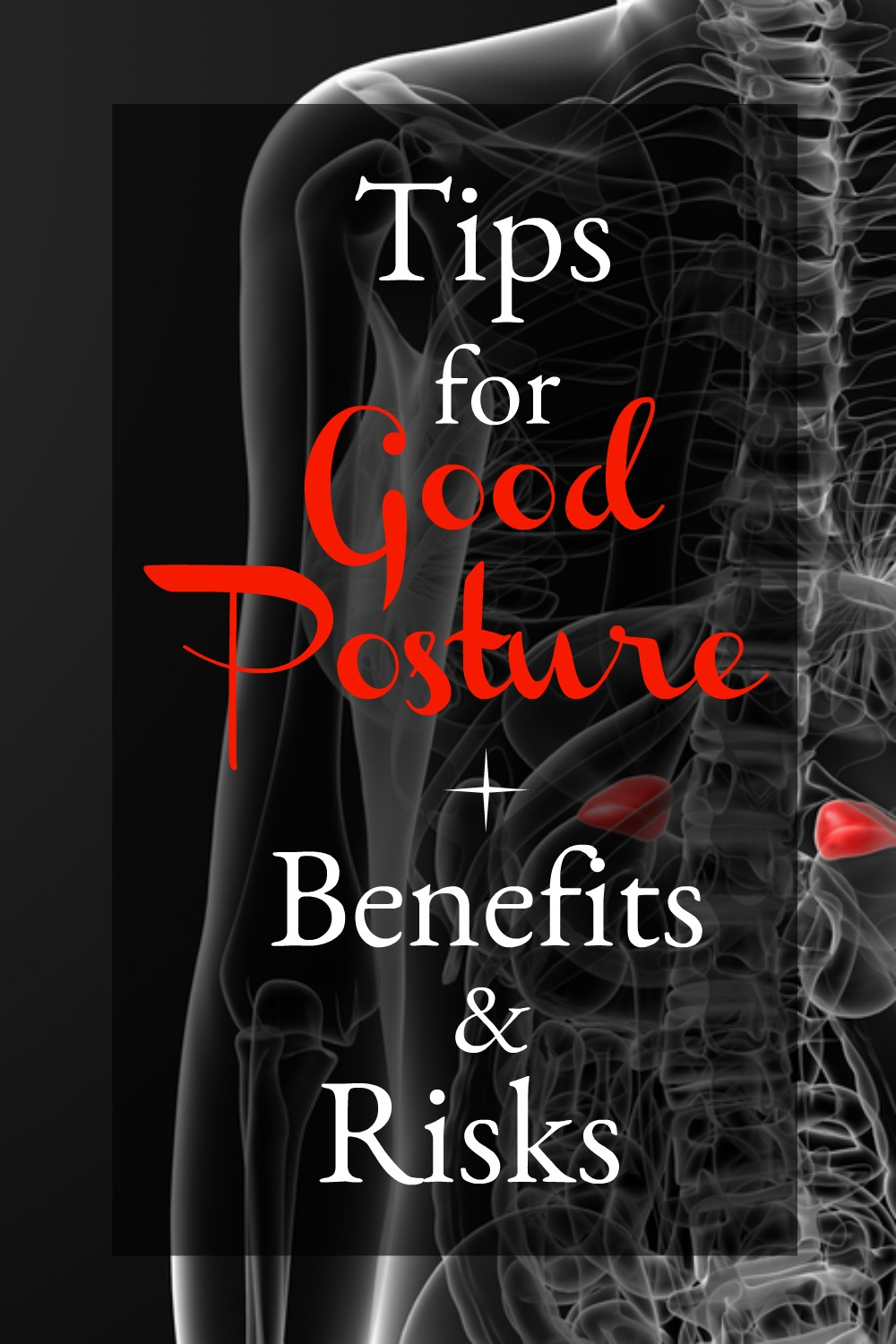 good posture benefits your health and self-confidence