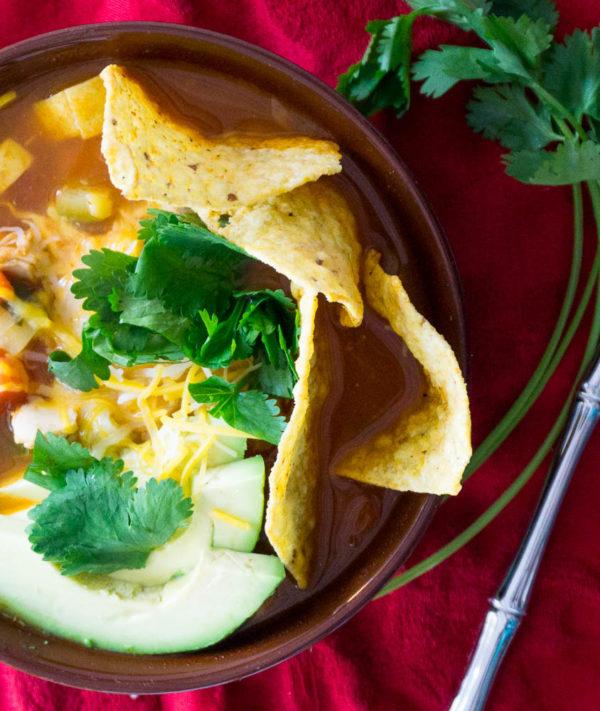 dad's tortilla soup