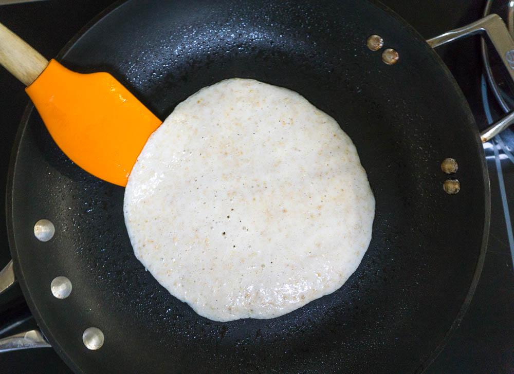 high protein 3 ingredient pancake